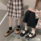 娃娃鞋2020新款圓頭娃娃鞋女韓版百搭復古平底休閒單鞋學生小皮鞋女鞋潮 春季特賣