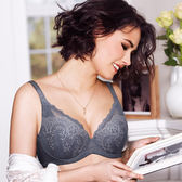 【黛安芬】美型大女人系列 D-E罩杯內衣(典雅灰)