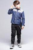 【BTIS】男格紋拼布襯衫