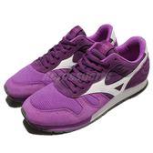 【五折特賣】Mizuno 復古慢跑鞋 ML87 紫 白 經典款 女鞋 運動鞋 【PUMP306】 D1GA170367