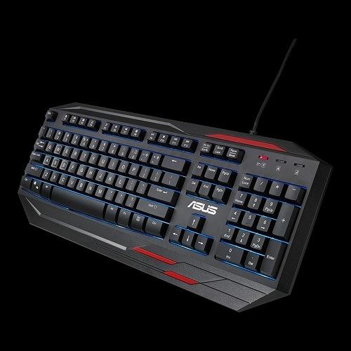 華碩 ASUS GK100 薄膜式電競鍵盤
