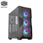 酷碼 MasterBox TD500 Mesh (黑) A.RGB 顯卡長41/U高16.5/玻璃透側/網孔面板/ATX