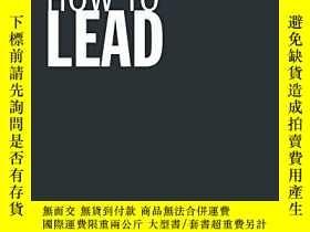 二手書博民逛書店How罕見To LeadY256260 Jo Owen Prentice Hall 出版2005