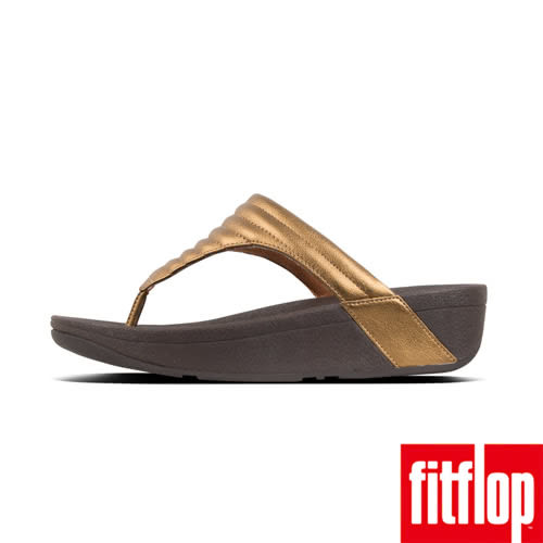 【FitFlop】LULU PADDED TOE THONGS(銅色)