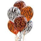 12吋乳膠氣球20入-動物花紋
