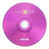 ◆0元運費◆錸德 Ritek 光碟空白片 X版 CD-R 700MB 52X 空白光碟片 (50片裸裝X2 ) 100PCS