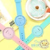 一件85折免運--新品正韓小清新手錶女時尚簡約可愛中學生兒童石英錶XW