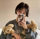 全型號 蘋果手機殼 三星手機殼 iPhone12Pro 11 Max Mini Xr X Xs 7 8 plus 可愛少女泰迪熊