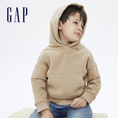 Gap男幼童 活力亮色連帽休閒上衣 661675-駝色