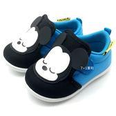 《7+1童鞋》MICKEY MOUSE 米奇 舒適 透氣 寶寶鞋  E509   藍色