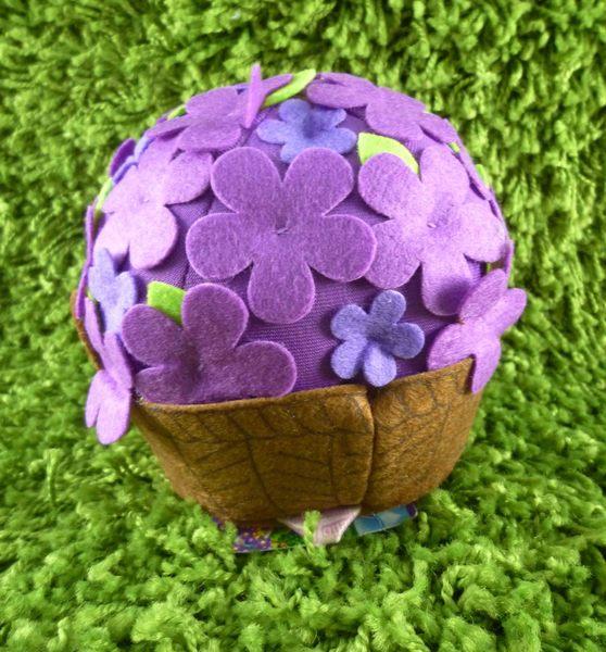 【震撼精品百貨】Hello Kitty 凱蒂貓~絨毛娃娃-紫球
