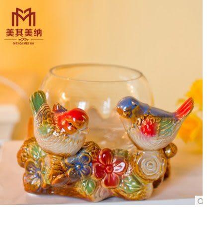 水培花瓶陶瓷花盆玻璃魚缸