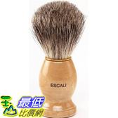 [美國直購] Escali 刮鬍刷 100% Pure Badger Shaving Brush (merkur刮鬍刀可參考)