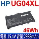 惠普 HP UG04XL 4芯 . 電池 HSTNN-IB9B