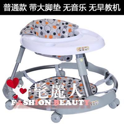 嬰兒童寶寶學步車6/7-18個月防側翻多功能安全手推可坐