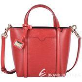 DOLCE & GABBANA MINI ESCAPE 牛皮兩用包(紅色) 1520084-54