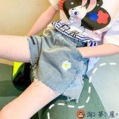 女童短褲中大童牛仔熱褲外穿薄款兒童褲子夏季【淘夢屋】