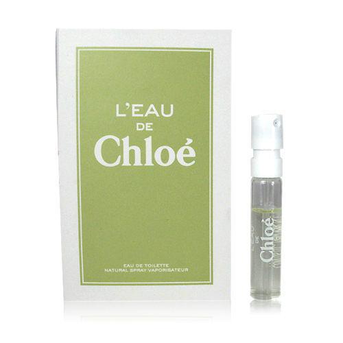 Chloe L'Eau de Chloé 水漾玫瑰 女性淡香水 1.2ML【七三七香水精品坊】