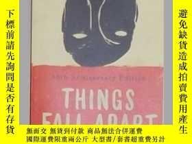 二手書博民逛書店英文原版罕見Things Fall Apart by Chinu