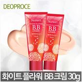 韓國 DEOPROCE 白花亮膚防曬遮瑕BB霜【花想容】30G