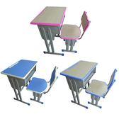 單人雙人中小學生學校兒童課桌椅書桌輔導班學習桌培訓桌廠家直銷【全館滿千折百】