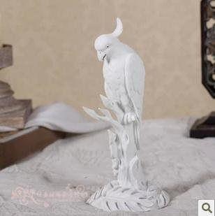 鸚鵡擺設 歐式家居裝飾品擺件
