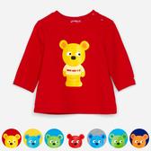 WHY AND 1/2 mini 普普熊棉質萊卡T恤 0M~4Y 多色可選
