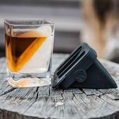 威士忌冰鎮玻璃杯套裝 水晶玻璃伏特加洋酒烈酒冰酒杯