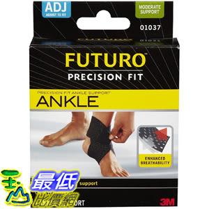 [105美國直購] Futuro 01037EN Infinity Precision Fit Ankle Support, Adjustable 可調整 護踝 腳踝