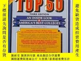 二手書博民逛書店英文原版罕見Barron s Top 50 by Tom Fis
