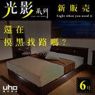 光影系列【UHO】6尺雙人加大加強床底-...