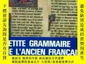二手書博民逛書店《PETITE罕見GRAMMAIRE DE L'ANCIEN FRANCAIS》(古代法語語法)par H. Bo