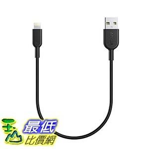 [106美國直購] Anker AK-848061064544 PowerLine II (1ft) 充電線傳輸線 Dura Lightning Cable MFi Certified for iPhone 7 Plus