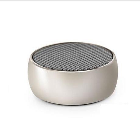 【世明國際】simplicity迷你無線桌面音響BS-01小鋼炮重低音喇叭插卡金屬藍牙音箱