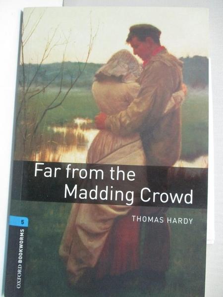 【書寶二手書T1/原文書_IJ3】Far From The Madding Crowd_Hardy, Thomas/ West, Clare (RTL)
