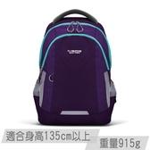 【FX Creations】AGS回彈減壓系統-兒童書包(中)#夢幻紫-SNA69896A-23