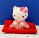 【震撼精品百貨】凱蒂貓_Hello Kitty~日本SANRIO三麗鷗 KITTY 開運擺飾-粉和服#03352