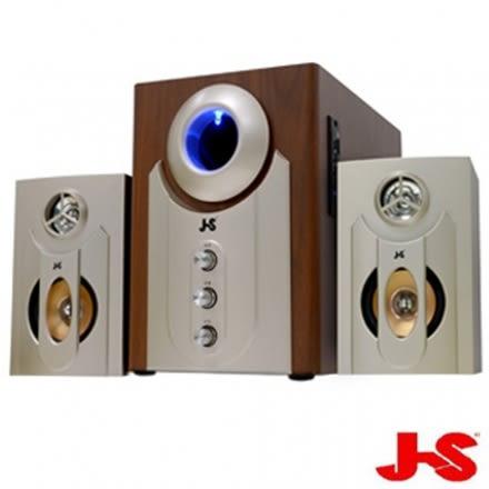【JS淇譽電子】2.1聲道多媒體喇叭USB/SD插卡版(JY3002B)