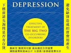 二手書博民逛書店Anxiety罕見+ Depression: Effective