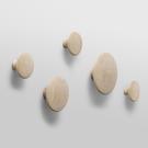 丹麥 Muuto The Dots Coat Hooks Series 點點 木質 衣帽勾系列 五件組(橡木色)