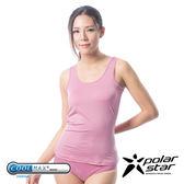 PolarStar 台灣 女 coolmax® 涼感纖維 排汗快乾背心『粉紅』P13104 吸濕排汗背心 運動│散熱│涼感