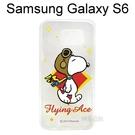 SNOOPY 史努比透明軟殼 [N02] Samsung G9200 Galaxy S6【台灣正版授權】