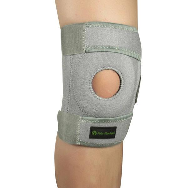 PUSH! 運動戶外休閒用品 3000次不掉絨不起球吸濕排汗護膝H08