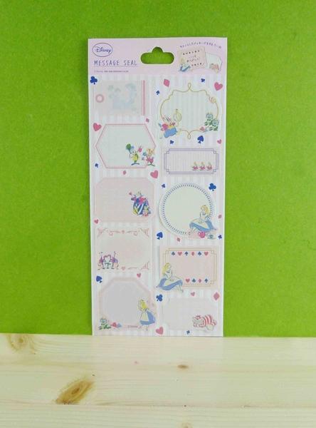 【震撼精品百貨】公主 系列Princess~ 留言貼紙-愛麗絲圖案