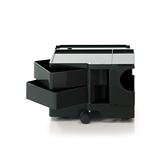 B-Line Boby Storage Trolly System Mod.XS H31.5cm 巴比 多層式系統 收納推車 - 低尺寸 (雙抽屜收納) 黑色款