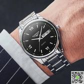 手錶 冠琴正品手錶男士夜光時尚雙日歷機械表 2018新款防水全自動男表 印象部落