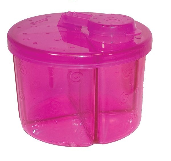 Sassy -四格奶粉分隔罐30018【TwinS伯澄】顏色隨機出貨