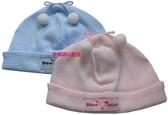 台灣製聖哥NewStar螺紋彈性嬰兒帽NS3589~純棉四季皆適宜