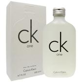 CK one 中性淡香水 200ml