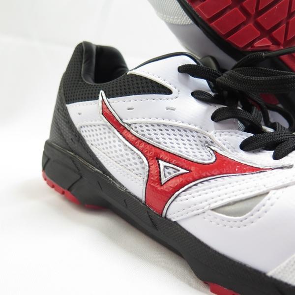 Mizuno LS 防護鞋 男款 工作安全鞋 F1GA200801 白黑紅【iSport愛運動】